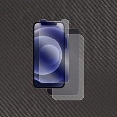 아이폰12 블루라이트 액정+무광 카본 보호필름 2매