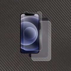 아이폰12 저반사 액정+무광 카본 후면 보호필름 각2매