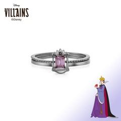 [디즈니 빌런]이블퀸 투웨이 프레임 흑도금 반지 OTRF20V05QBV