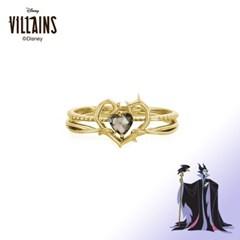 [디즈니 빌런]말레피센트투웨이프레임 옐로골드 반지 OTRF20V04QYG