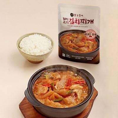 강강술래 돼지고기 김치찌개 500g