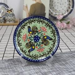 폴란드그릇 아티스티나 원형 접시 16cm 유니캇u2702