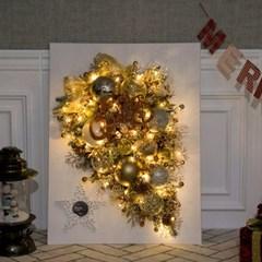 앙드골든캔버스트리 80cmP 크리스마스 장식 TRHMES