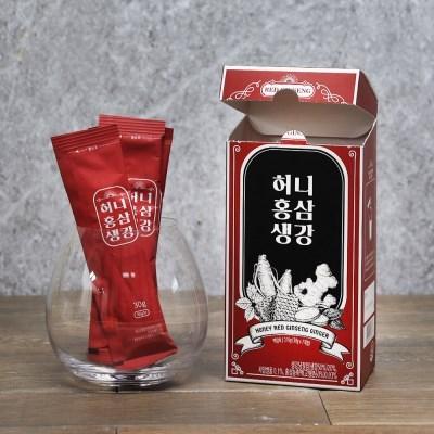 다미즐 허니홍삼생강차 7입