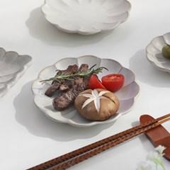 코토리 하나 원형접시(소)14cm 2color 택1