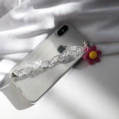 [폰스트랩]Candy case strap-Transparent