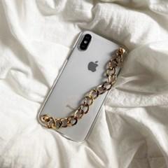 [폰스트랩]Leopard chain strap