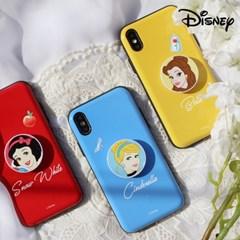 디즈니 프린세스 심플 스마트톡+유광 카드범퍼