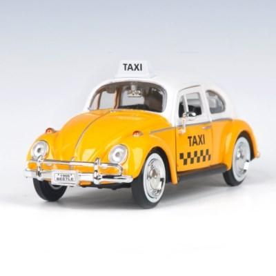 [모터맥스]1:24 1966 클레식 비틀 택시 (537M79577Y)