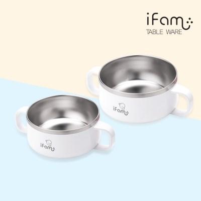 아이팜 이지두잉 유아 밥그릇+국그릇 2종 세트 유아식기 이유식그릇