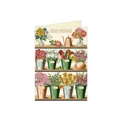 카발리니 생일카드 Flower Market