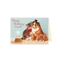 카발리니 생일카드 Friends