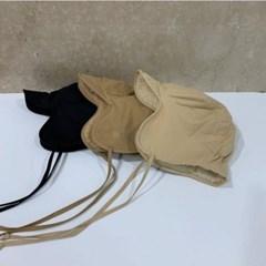 턱끈 데일리 패션 양털 귀달이 버킷햇 벙거지 모자