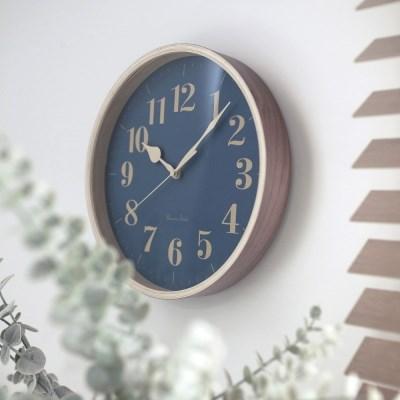 [Banana]바나나 21블루아워(Blue hour) 빈티지 인테리어무소음시계