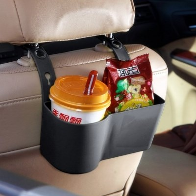 온나 차량용 뒷좌석 컵홀더 수납정리대