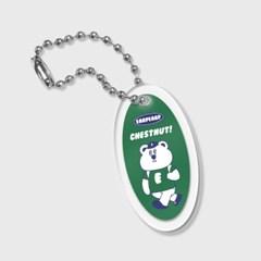 circle Hello chestnut-green(키링)_(1688643)