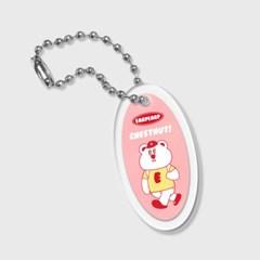 circle Hello chestnut-pink(키링)_(1688642)