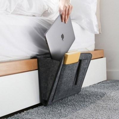침대 소파 밑 틈새 수납 리모컨 소품 보관 정리함 3color