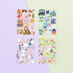 O-ssum sticker for deco ver.3  4종