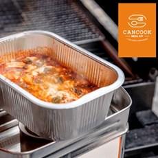 캠핑요리 음식 순두부찌개+버너 조리기구 세트 캠핑 밀키트