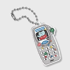 kkikki retro cell phone(글리터키링)_(1688633)
