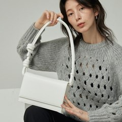 brick rope bag _ white