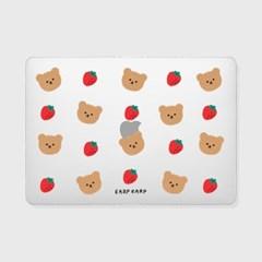 Dot strawberry bear(맥북-투명)_(1690098)