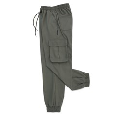 (UNISEX) M Soft Royal Cargo-Jogger Pants(KHAKI)