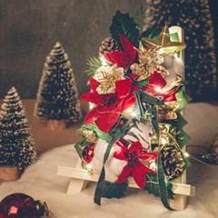플체리마 탁상용 크리스마스 미니트리 LED전구세트(자유문구)