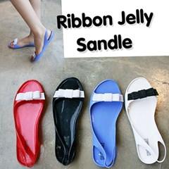 Ribbon Jelly Sandle_KM10s229