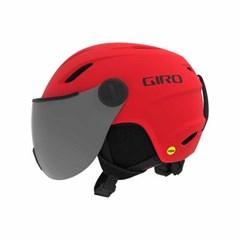 아동용 바이저 헬멧 BUZZ MIPS-MATTE BRIGHT RED