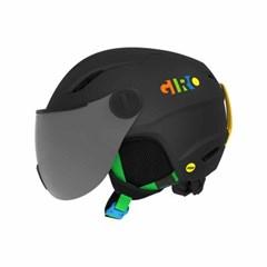 아동용 바이저 헬멧 BUZZ MIPS - MAT BLK PRTY BLK
