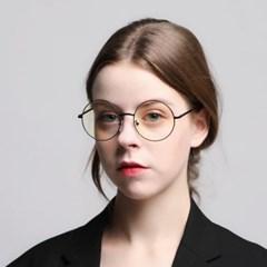 로코모티브 소피아 블랙 블루라이트차단 청광 렌즈 여자 남자 안경테