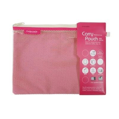 파우치 화이트820 노트북 (핑크) B5