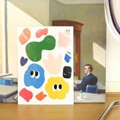 벌룬프렌즈 A3 포스터 - 시그니쳐 패턴