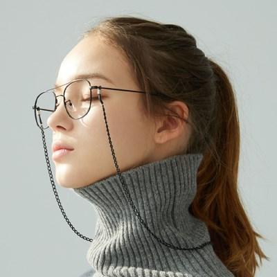 Glasses chain / Mask strap BLACK  체인 안경줄 마스크스트랩