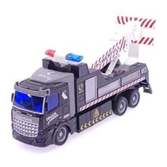 1/48 DIY 시티트럭 3in1 견인트럭 무선조종RC 블랙