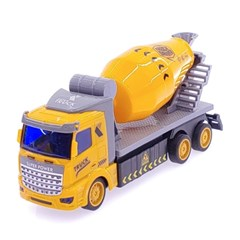 1/48 DIY 시티트럭 3in1 레미콘트럭 무선조종RC 옐로우