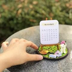 미니 이젤 달력 만들기 미니어처 DIY 풀키트