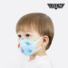 킨즈 엄마가 만든  유아 어린이 마스크 국내제작 3D입체 마스크 80매