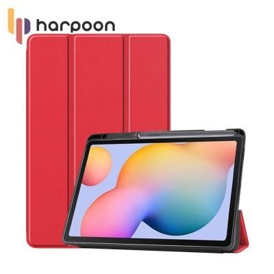 하푼 갤럭시 탭S6라이트 P610 펜슬롯 태블릿 케이스
