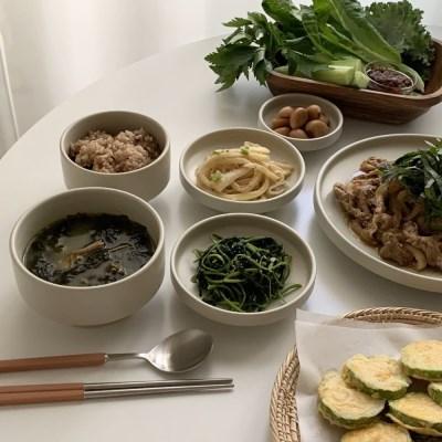 데이앤라이프 모던한식 1인식기세트 6p 신혼그릇 혼밥