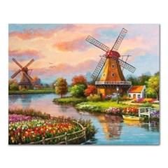 DIY 페인팅 네덜란드의 풍경 PH99 (50x40)_(1495391)