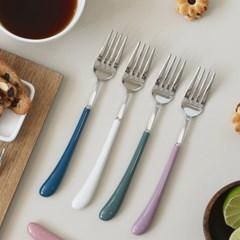몽블랑 스완 실버 커트러리 11color - 샐러드포크