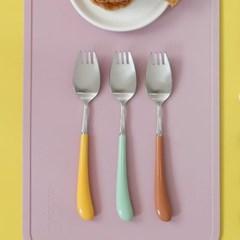 몽블랑 스완 실버 커트러리 11color - 아동용 포크