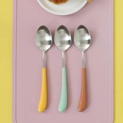 몽블랑 스완 실버 커트러리 11color - 아동용 스푼