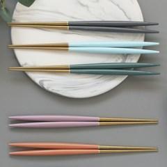 몽블랑 스완 골드 커트러리 11color - 어른 젓가락