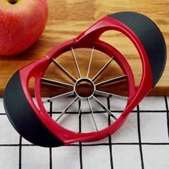 기본형 레드 애플 커터기 1개(색상랜덤)
