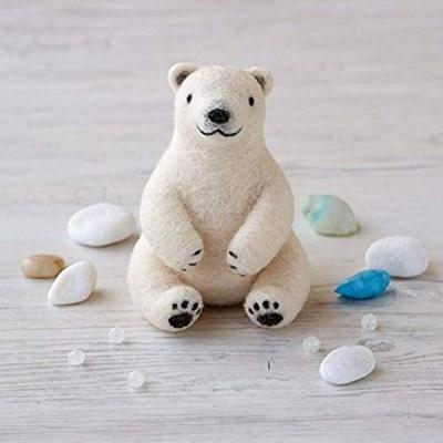 하마나카 양모펠트 북극곰 DIY