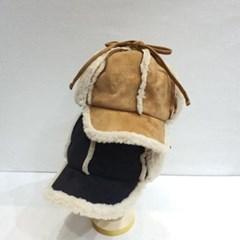 데일리 패션 양털 뽀글이 스웨이드 볼캡 귀달이 모자